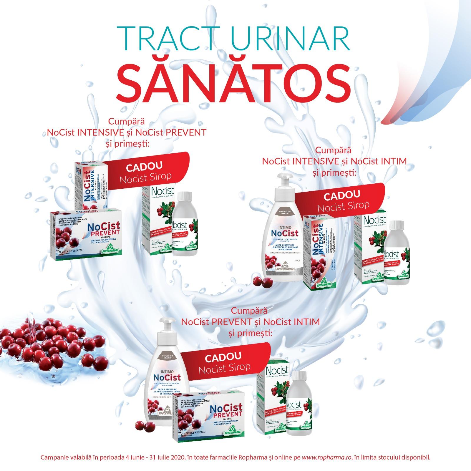 Gama Nocist – Tract urinar sănătos!